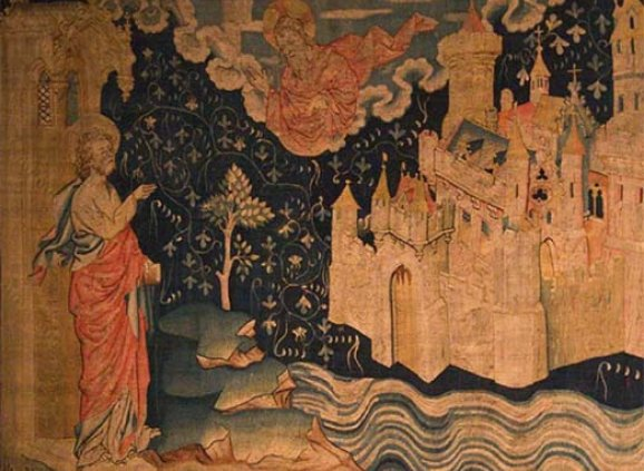 """Tapestries of the Apocalypse, Angers, France – """"The New Jerusalem"""""""