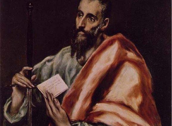 """""""St Paul"""" – El Greco (1541-1614)"""