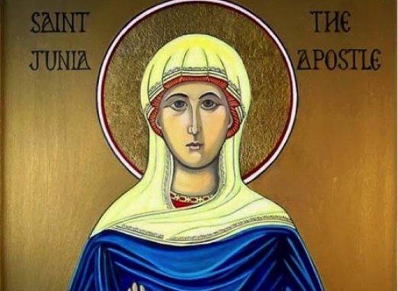 """""""St. Junia the Apostle"""" (Modern Icon – origin unknown)"""