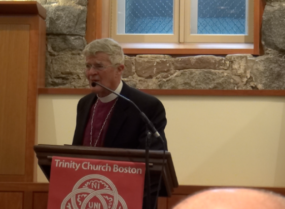 The Rt. Rev. Frank Griswold at the Forum on May 14.