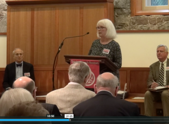 Members of the Parish Profile Committee speaking at the Forum