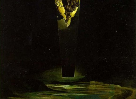 Christ of St. John of the Cross – Salvador Dali