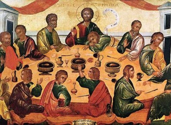 """""""The Last Supper"""" – Byzantine Museum, San Giorgio, Venice"""