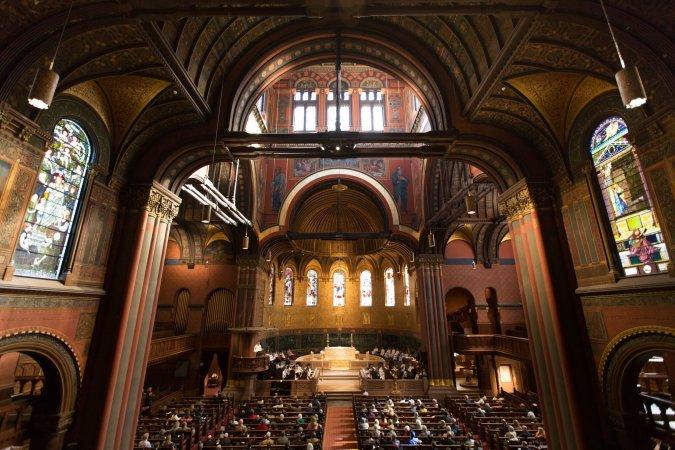 Trinity interior