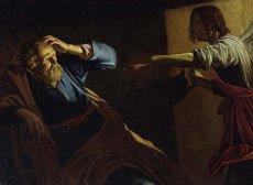 """St. Peter Freed from Prison"" – Gerrit von Honthorst (1590-1656)"