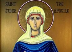 """St. Junia the Apostle"" (Modern Icon – origin unknown)"