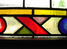 stainglass from our building