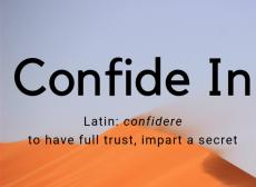 Confide In