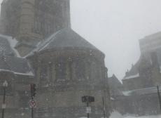 Trinity in the Snow