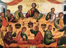 """The Last Supper"" – Byzantine Museum, San Giorgio, Venice"