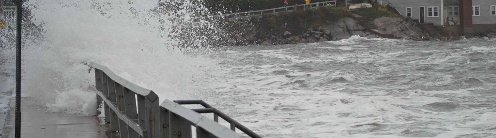 Hurricane Sandy flooding in Marblehead, MA