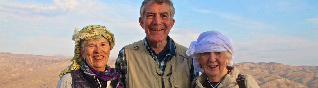 Parishioners on the Holy Land trip 2015