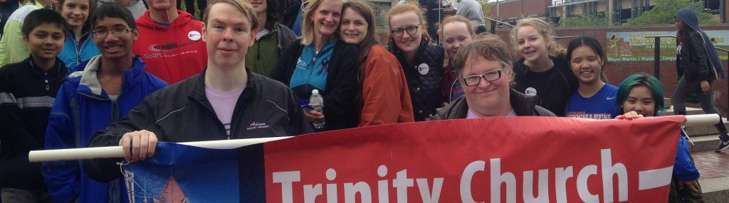 Trinity at Walk for Peace 2016.