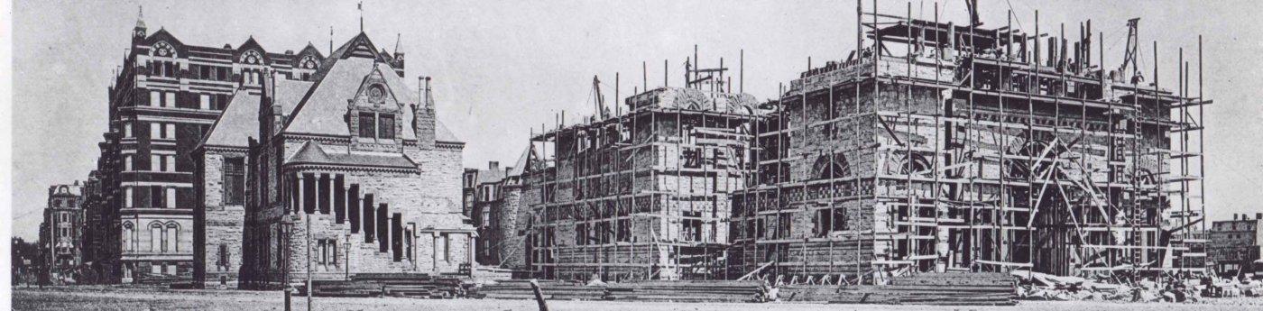 Trinity under construction
